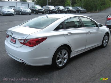2011 Hyundai Sonata 2 0t Limited by 2011 Hyundai Sonata Limited 2 0t In Porcelain White Pearl