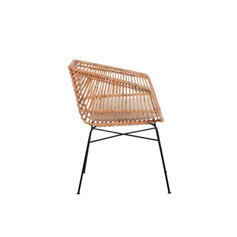set 2 sillas terraza mimbre muebles gourmandise concept market