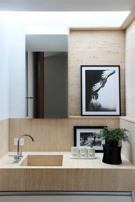 schöne bilder fürs badezimmer 70 einmalige modelle waschtisch aus holz archzine net