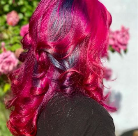 Even dressed in all black, your pink hair will make for an instant tasteful look. Fun and Funky Hair Color - Because Why Not?