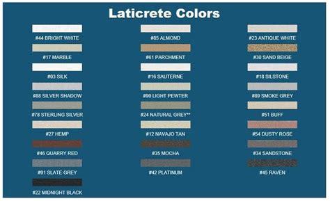 laticrete grout color chart google search cottage bath ideas pinterest laticrete grout