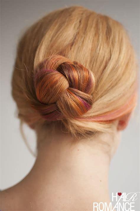 hair bun styles for medium hair 20 easy updos for medium hair