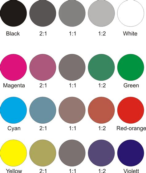all color your ideas are all colors a shade of grey