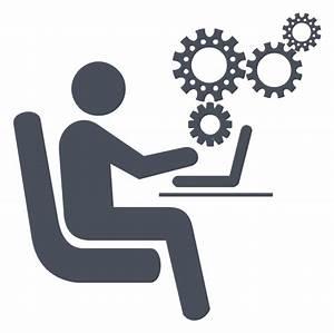 Manual Process Icon At Vectorified Com
