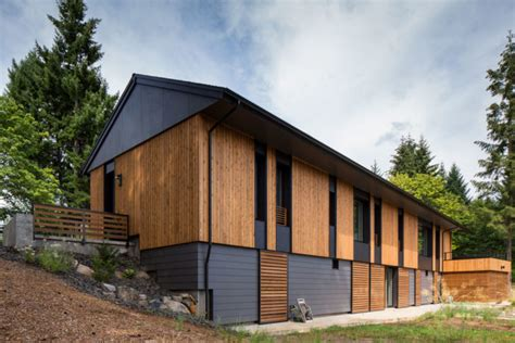 Passive House : Pumpkin Ridge Passive House By Portland Builder Hammer & Hand
