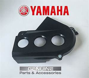 Oem Yamaha Front Sprocket Crank Case Cover Chain Guard Warrior Raptor 350