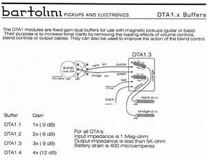 Wiring Diagrams - Bartolini Pickups  U0026 Electronics