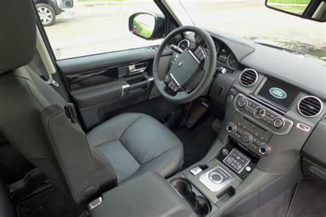 land rover lr4 interior 2014 land rover lr4 scv6 lr4 interior automobiles gayot