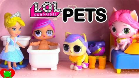 disney princess lol surprise pets  lol dolls palace