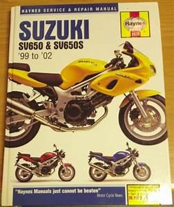 Service  U0026 Repair Manual Suzuki Sv650  U0026 Sv650s 99