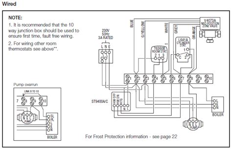 central heating wiring diagrams honeywell sundial  plan