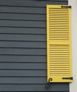 Shutter Colors with Gray Siding