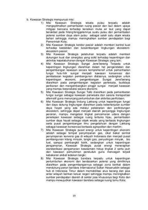 rancangan perda rtrw 2010-2030 makassar