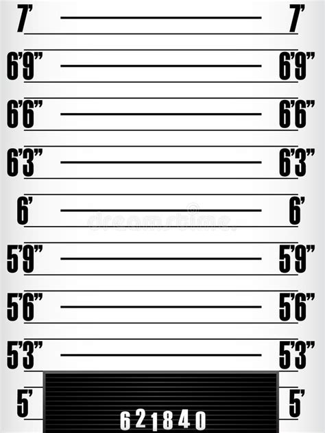 mugshot template mugshot stock vector illustration of line mugger drawing 15185529