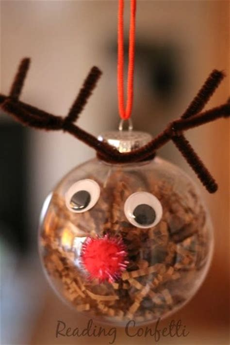 make christmas ornaments 50 christmas reindeer decorations to make i love pink