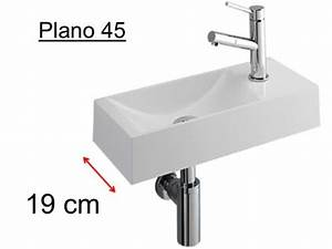 Lavabo Rectangulaire étroit : meubles lave mains robinetteries lave mains lave main ~ Edinachiropracticcenter.com Idées de Décoration
