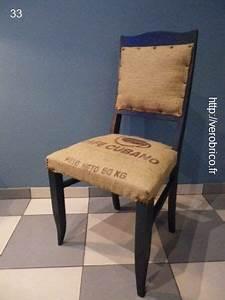 Tapisser Une Chaise : relooker une chaise vintage love tapisser une chaise d coration toile de jute et chaise ~ Melissatoandfro.com Idées de Décoration
