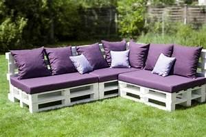 Canape De Jardin Bois : le fauteuil en palette est le favori incontest pour la ~ Premium-room.com Idées de Décoration