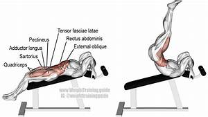 Incline Straight Leg And Hip Raise