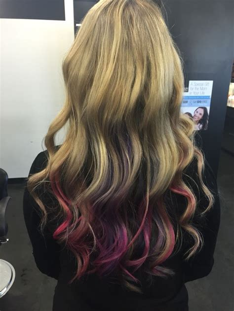 Best 25 Pink Peekaboo Hair Ideas On Pinterest Peekaboo