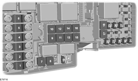 ford  max mk   fuse box diagram eu