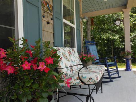 cottage style decorating our front porch farmhouse