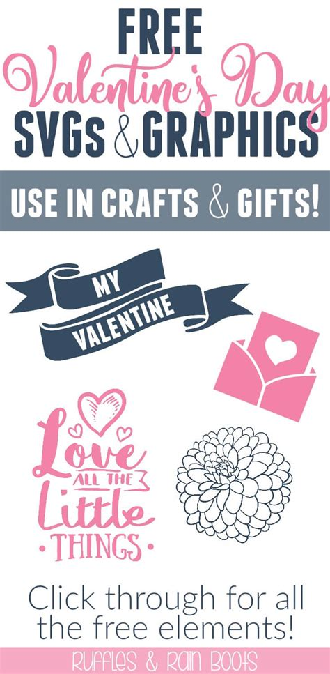 Spread the love throughout your digital planner with these adorable stickers! Free Valentine's Day SVG Files, Fonts, and Graphics for Crafts