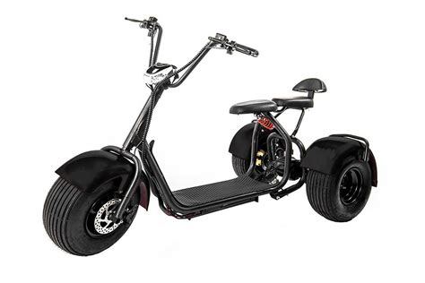 Edrift Uh-es395 Fat Tires 3-wheel Electric Scooter Moped