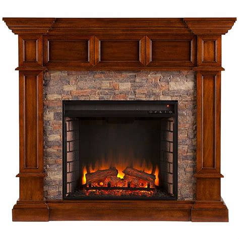 Places That Sell Electric Fireplaces - southern enterprises merrimack simulated convertible