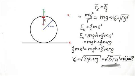 looping fliehkraft und energieerhaltung physik