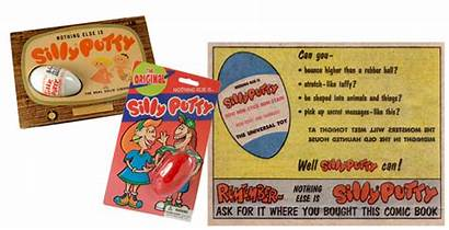 Silly Putty Toy Wright Fame Hall National