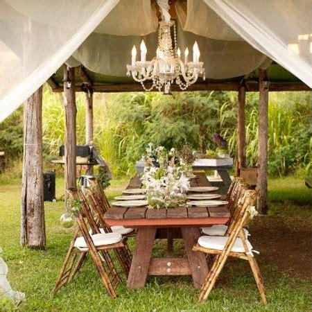 great garden party ideas rustic garden table party ideas
