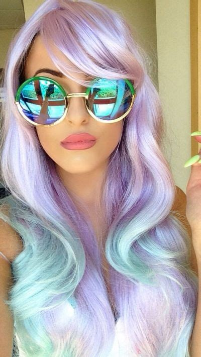cool color hair 17 best ideas about mermaid hair colors on