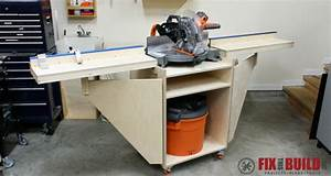 How to Build a Mobile Miter Saw Station : Part 1
