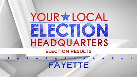 Fayette County, Ohio 2020 Election Results | NBC4 WCMH-TV