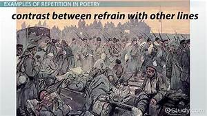 Repetition in Poems: Examples & Definition - Video ...