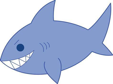 Blue Shark Clip Art