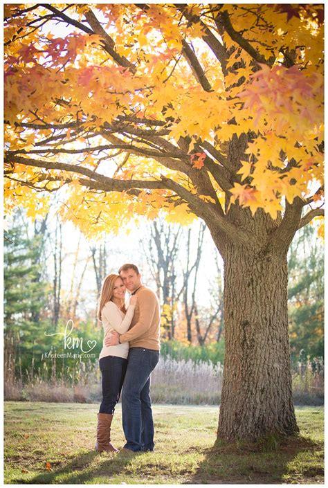 katlyn deerl indianapolis fall engagement photography