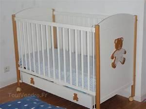 Chambre Bébé Ourson : lit bebe natalys ourson ~ Teatrodelosmanantiales.com Idées de Décoration