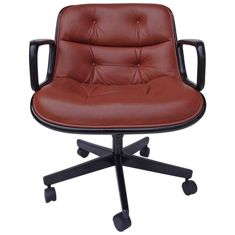 executive chair by charles pollock for knoll for sale at