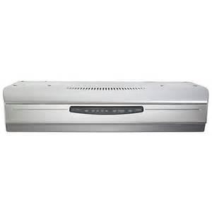 broan iii 30 inch stainless steel cabinet range