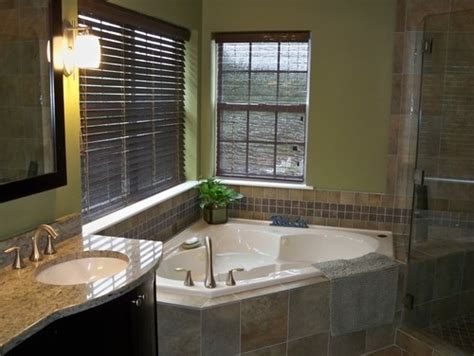corner tub bathroom ideas 17 best images about master bathrooms on