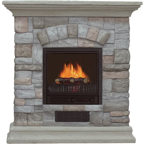 Electric Infrared Fireplace Heaters White Electric