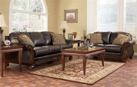 ashley furniture living room set   zion star