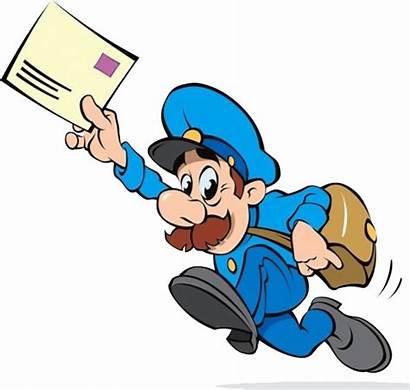 Postman Clipart Mailman Mail Carrier Transparent Webstockreview