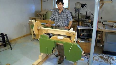 building  portable hobby sawmill youtube