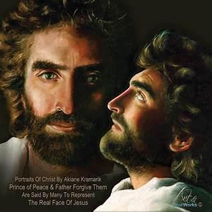 Protrat of Jesus and Profile of Jesus by Akiane Kramarik ...