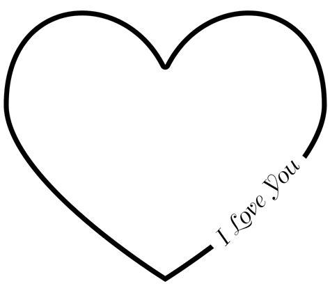heart outline  large images heart outline heart