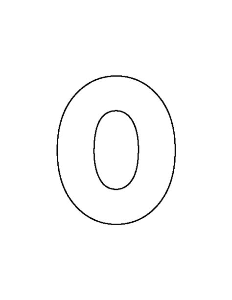 printable letters o lowercase letter o pattern use the printable outline for