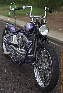 1968 Harley Fl Bobber With 74 Cubic Inch Generator